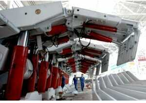 技术百科 >> 液压支架支护要求      ①工作面支架的安全阀必须调定在图片